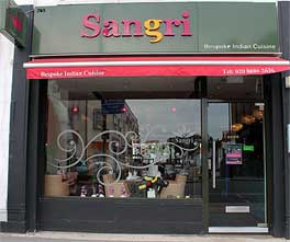 Sangri Indian Restaurant Croydon